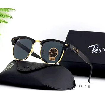 Ray Ban 2019 new men and women models large frame polarized driving sunglasses #5