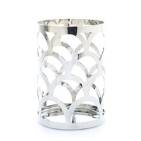 Chrome Collection : Pillar Candle Holder : Yankee Candle