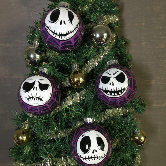 Nightmare before christmas ornaments from - Jack skellington christmas decorations ...