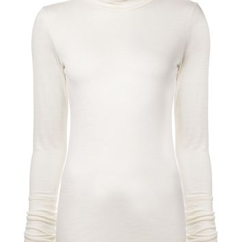 Helmut Lang slub knit sweater