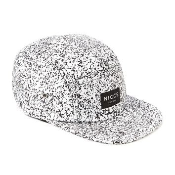 Nicce White Noise 5 Panel - White - Caps & Hats - Accessories | Shop for Men's clothing | The Idle Man