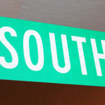 Vintage South Street Signs