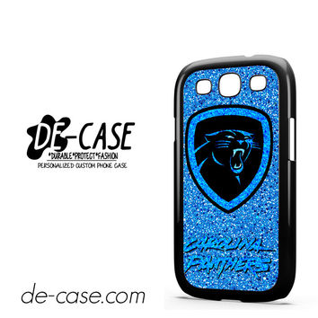 Carolina Panthers Nfl Logo Glitter For Samsung Galaxy S3 Case Phone Case Gift Present
