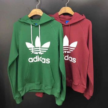 Adidas Woman Men Fashion Hoodie Pullover Top Sweater