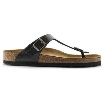 Birkenstock Gizeh Birko Flor Graceful Licorice 541951 Sandals - Ready Stock