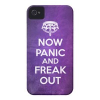 BCB | NOW PANIC AND FREAK OUT GRUNGE TOUGH CASE IPHONE 4 TOUGH COVER from Zazzle.com