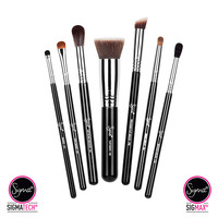 Best of Sigma Brush Set - Chrome