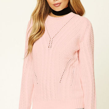 Crochet Sweater Top