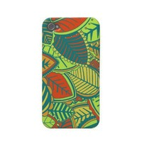 Jungle Leaves Iphone 4 Cases from Zazzle.com