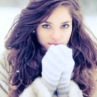 beautiful, beauty, blue eyes, brown, brunette - inspiring picture on Favim.com