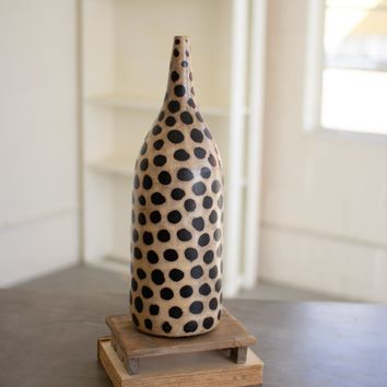 Clay Lenca Cheetah Vessel