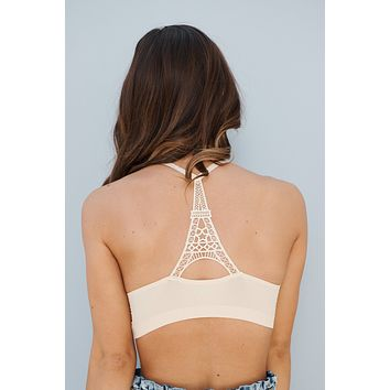 More Than You Think Bralette (Beige)