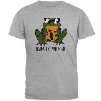 CREYCY8 Toad Totally Awesome Funny Pun Mens T Shirt