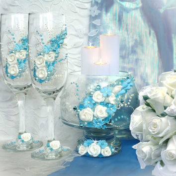 Candle holder, Wedding, birthday  or anniversary decoration, Vase