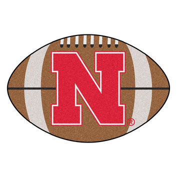 Nebraska Cornhuskers NCAA Football Floor Mat (22x35)