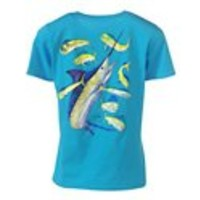 World Wide Sportsman® Guy Harvey Marlin T-Shirts for Ladies - Short Sleeve