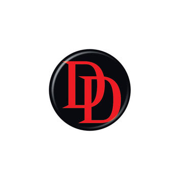 Daredevil Logo Button
