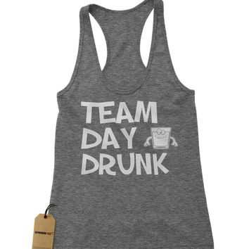 Team Day Drunk Racerback Tank Top for Women