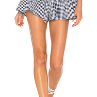 Blue Life Cherie Short in Navy & White Gingham | REVOLVE