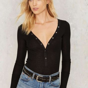 Womens Black Tight Top Shirt +Gift Necklace