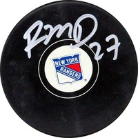 Steiner Sports Ryan McDonagh New York Rangers Autographed Hockey Puck (Ran Team)