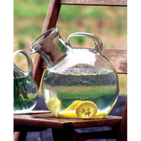 Kalalou CV5609 Small Mouthed Circular Tilted Pitcher