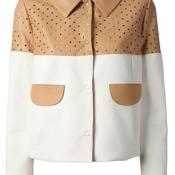Drome Perforated Leather Jacket