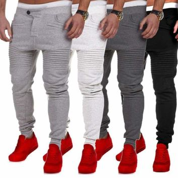 New Men's Casual Baggy Hiphop Dance Jogger Sweatpants Trousers Harem Pants Lot