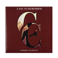 A Day To Remember - Common Courtesy Vinyl LP Hot Topic Exclusive