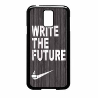 Nike Future On Wood Gray Samsung Galaxy S5 Case