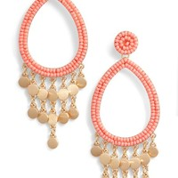 Rebecca Minkoff Riley Beaded Drop Earrings | Nordstrom