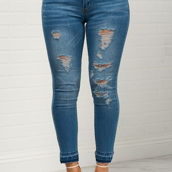 Stacy Distressed Jeans