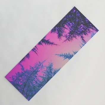 Crossover Yoga Mat by duckyb