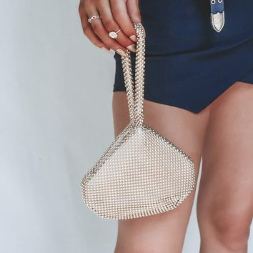 Rogue Gold Mini Handbag