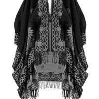 Juliette Floral Border Cape