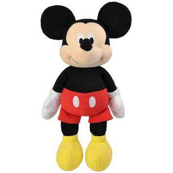 Disney Baby Mickey Mouse Floppy Favorite Plush 17""