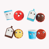 YUMMY Breakfast Eraser Accessory 2-Pack | Kidrobot