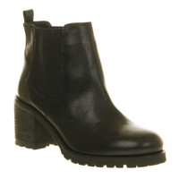 Office Big Bang Chelsea Black Nubuck - Ankle Boots