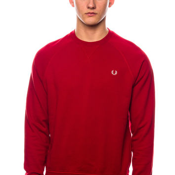 Fred Perry Loopback Crew Neck Sweater