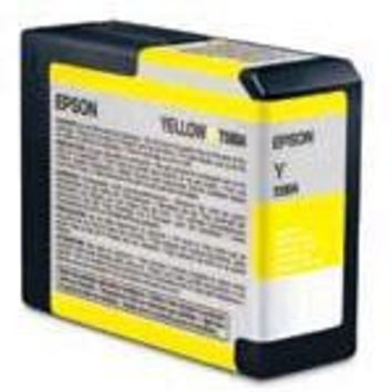 YELLOW ULTRACHROME INK CARTRIDGE 80 ML - STYLUS PRO 3800