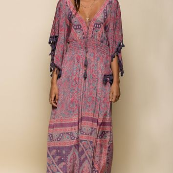 ELECTRIC LOVE MAXI DRESS