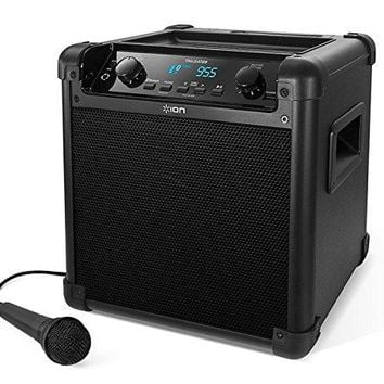 ION Audio Tailgater (iPA77) | Portable Bluetooth PA Speaker with Mic, AM/FM Radio, and USB Charge Port