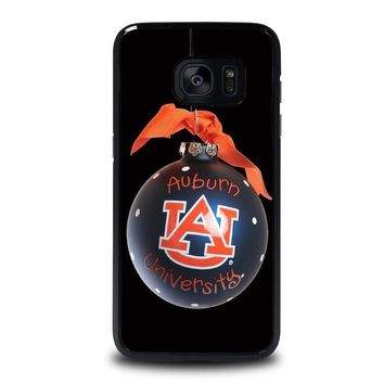 auburn university war eagle samsung galaxy s7 edge case cover  number 1