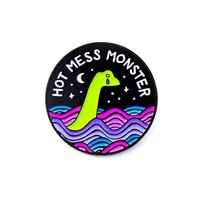 Hot Mess Monster Pin