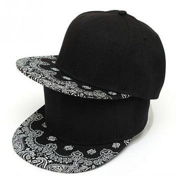 1cb511285ea Trendy Winter Jacket 2018 Newest Unisex Paisley Adult Snapback H