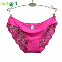 7 Color Women Sexy Lingerie Lace Panties Female Lady Seamless Cotton Panty Hollow Out Briefs Underwear Underpants Knickers Jan18