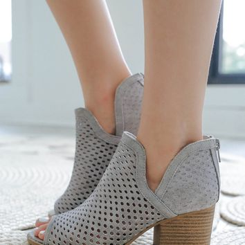 STAND BY ME BOOTIES - HEATHER GREY