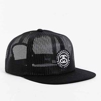 Stussy International Mesh Snapback Hat