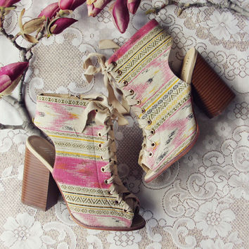 Swoon Lace-up Booties