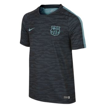 Nike FC Barcelona Flash Night Rising Kids' Soccer Shirt